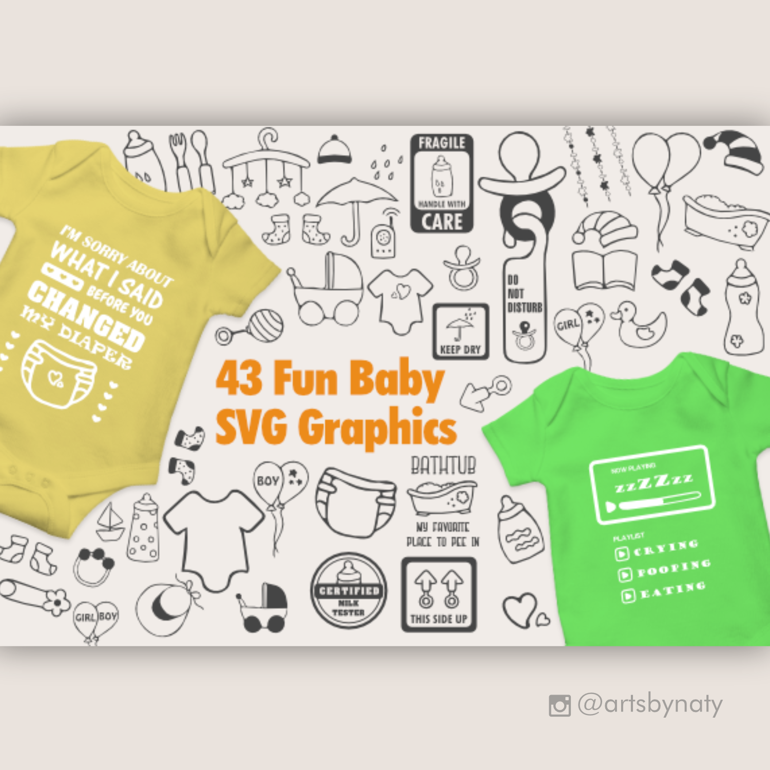 Download New Born Baby Svg Bundle SVG