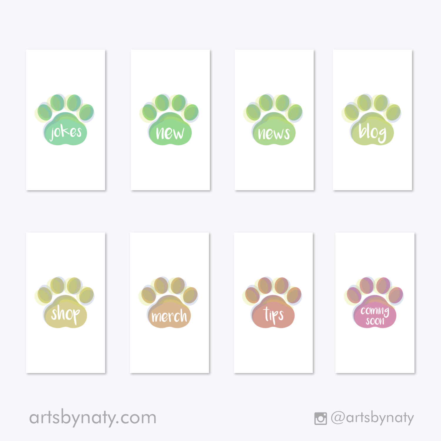 32 Pet Instagram Highlight Covers Arts By Naty
